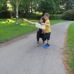 enjoying orienteering as a family day out in the great outdoors