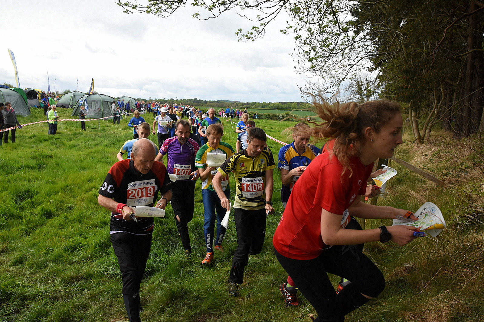 Championships are a main Scottish sports event for orienteers