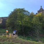 Orienteering near Scottish castles in the great outdoors