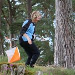 Orienteering in Scottish woodlands and connecting with nature