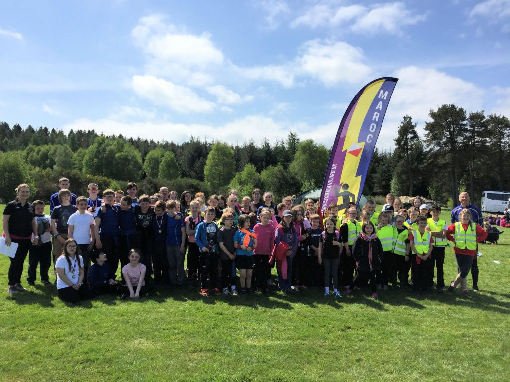 The 2018 Alford schools festival was co-organised by Maroc and Active Schools on World Orienteering Day