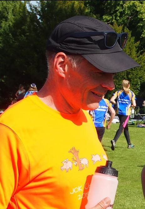 Jon Cross, one of the planners for WOC 2022