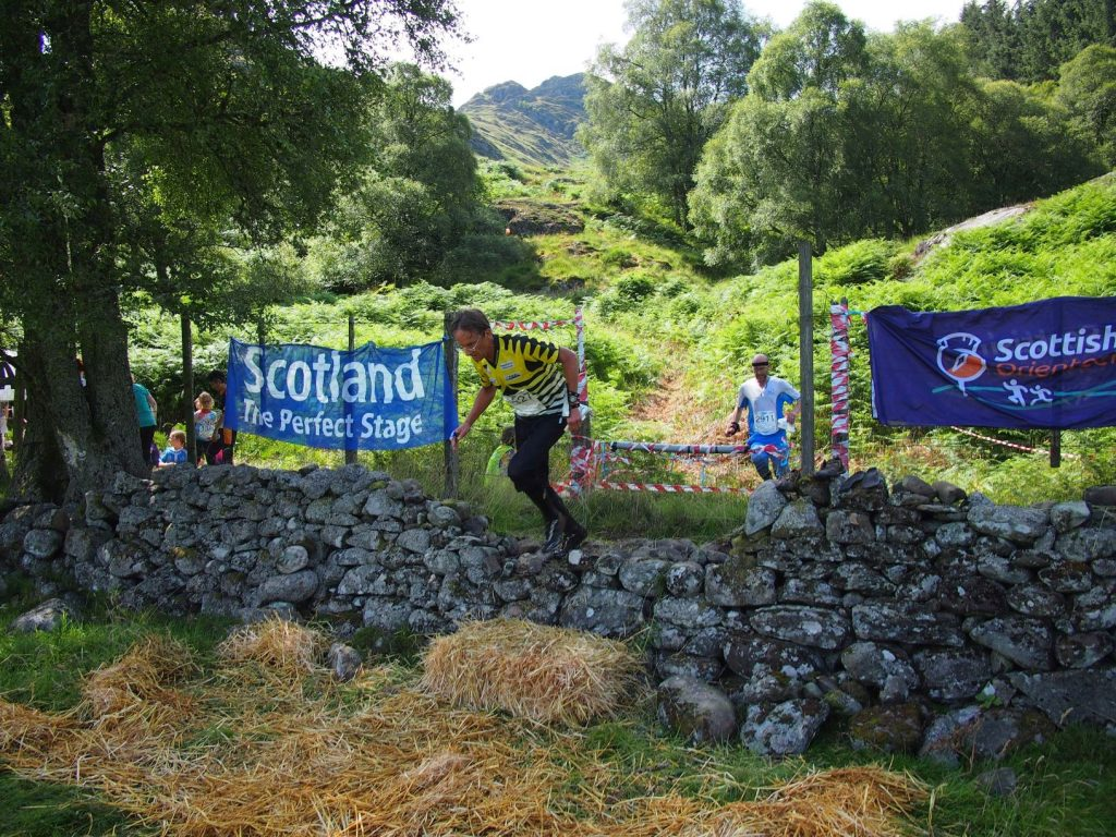 Scotland: the perfect stage for an event like this.