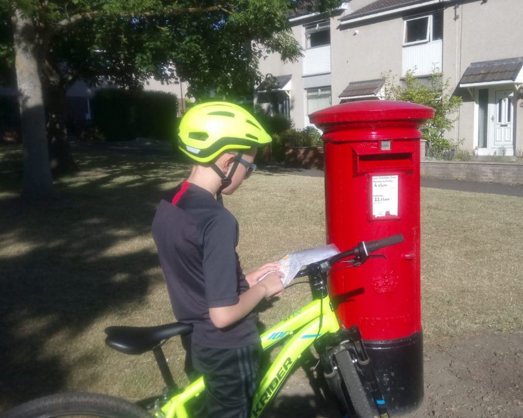 Postbox Orienteering with MapRun